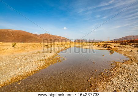 Wadi In Southern Morocco