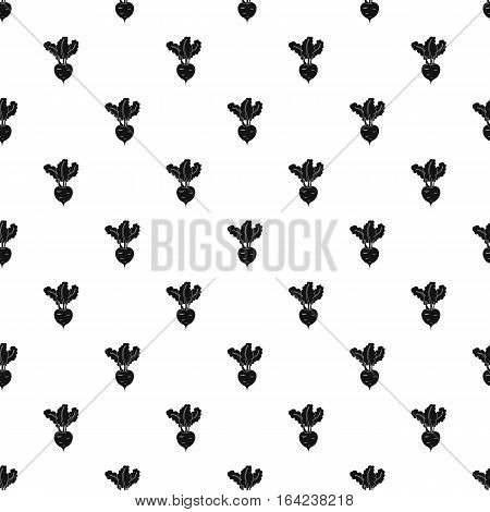 Turnip pattern. Simple illustration of turnip vector pattern for web