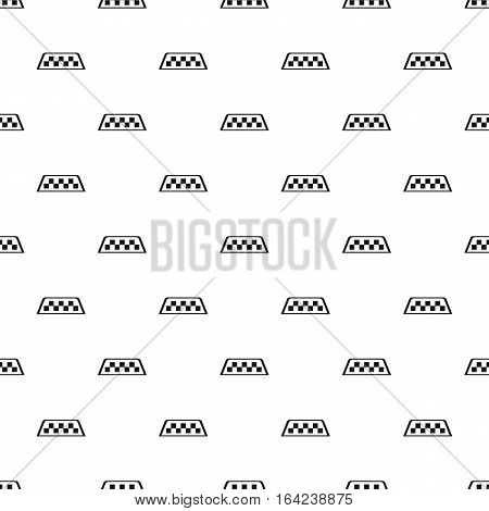 Checker taxi pattern. Simple illustration of checker taxi vector pattern for web
