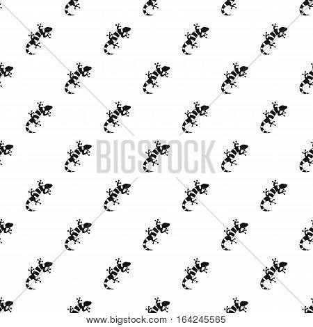 Striped lizard pattern. Simple illustration of striped lizard vector pattern for web