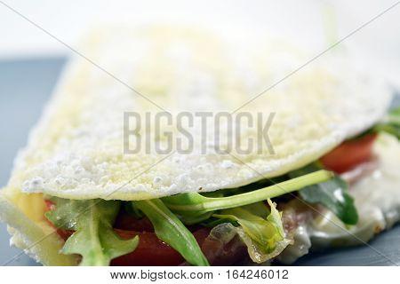 Brazilian Tapioca On A Plate