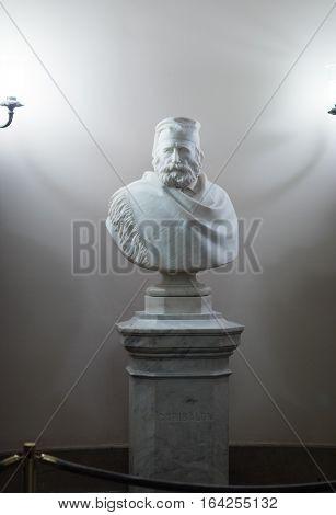 Giuseppe Garibaldi.by Giuseppe Martegana