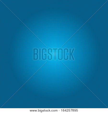 Modern tech futuristic background blue grid sphere