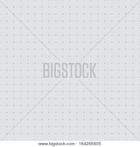 White leather stitch seamless tile texture background