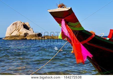 Prow Asia  The  Kho Tao Bay Isle White  Beach