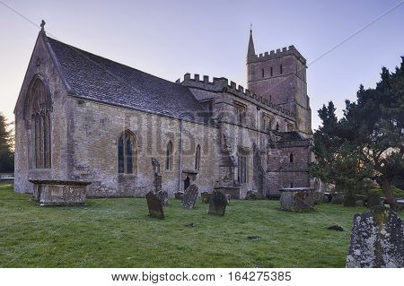 St Mary The Virgin Church Hawkesbury Gloucestershire