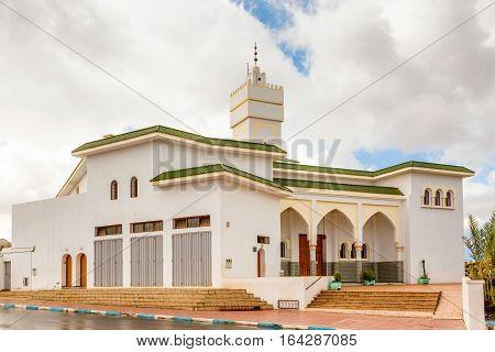Mosque In Sidi Ifni, Morocco