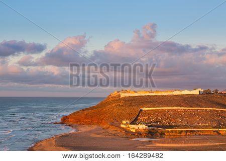 Sidi Ifni On The Coast Of Morocco