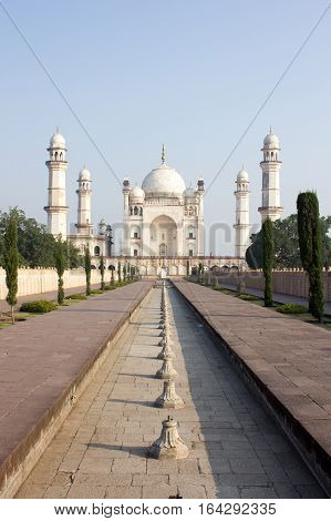 Bibi ka Maqbara, the landmark in Aurangabad India