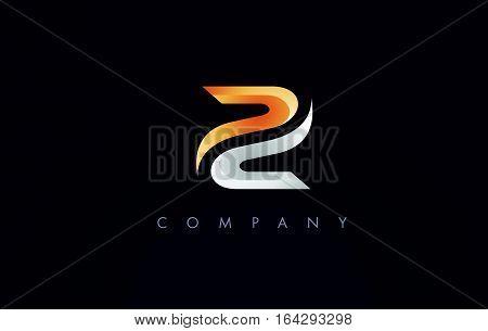 Z Logo.Z Letter Icon Design Vector Illustration.