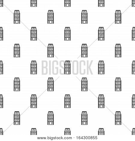 Dutch house pattern. Simple illustration of dutch house vector pattern for web