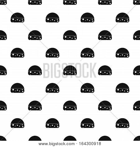 Dutch cheese pattern. Simple illustration of dutch cheese vector pattern for web