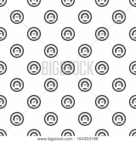 Exclusive speedometer pattern. Simple illustration of exclusive speedometer vector pattern for web