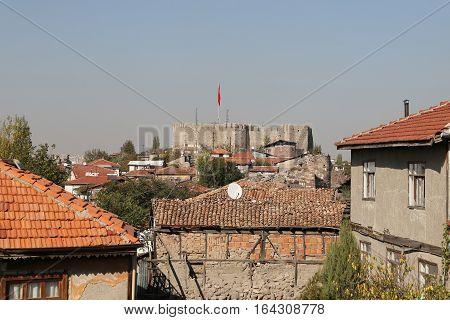 Ankara Castle In Turkey