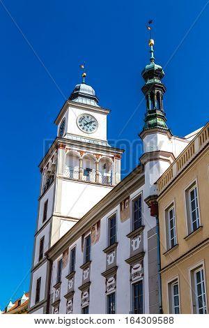 Tower Of Town Hall - Trebon Czech Republic Europe