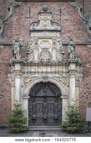 Church of the Holy Spirit in Copenhagen Denmark. Oresund region.