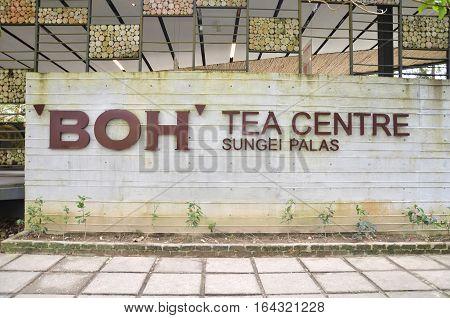 Boh Plantation Tea House In Cameron Highlands.