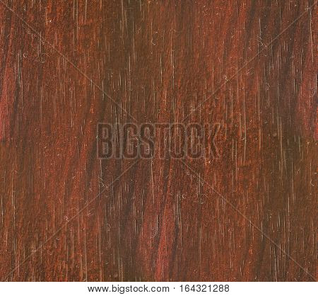 Old painted wood with chipped red paint. Grunge style background.