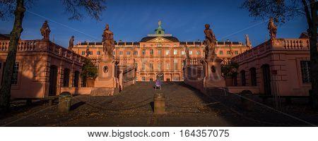 Beautiful Rastatt Schloss in Rastatt, Baden, Germany was an important place in the 1848 revolution