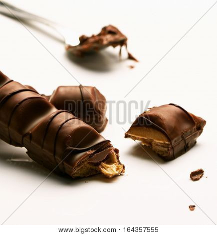 Mix Of Chocolate Bar Pieces / Dark Chocolate, Milk Chocolate