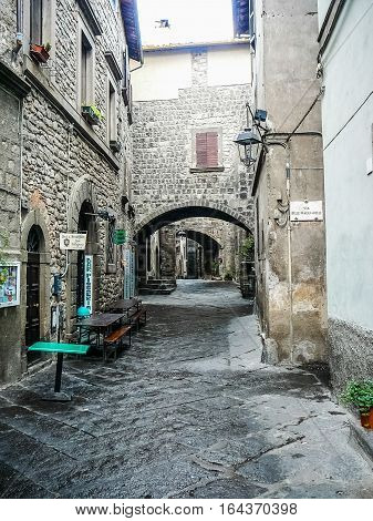 Hdr View Of Viterbo