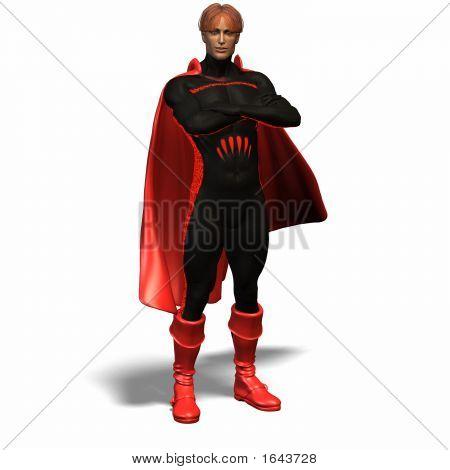 Red Super Hero #1