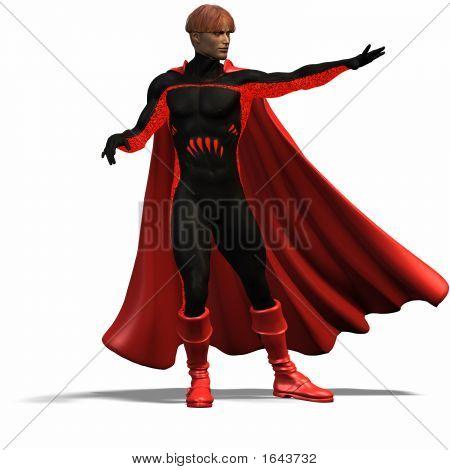 Red Super Hero #4