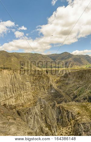Valley And Andes Range Mountains Latacunga Ecuador