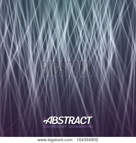 Disco Party Vector Laser. Abstract Laser Effect. Futuristic Laser Light Painting Background