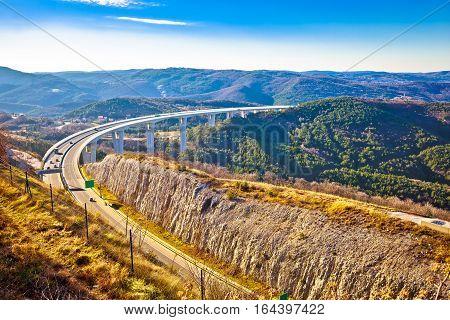 Crni Kal Viaduct In Slovenia
