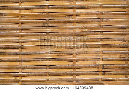 Close up bamboo wall texture. Background and texture