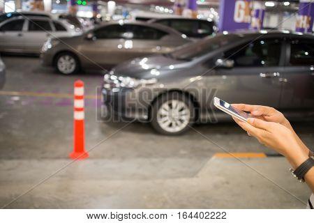 The Social Network Women play smart phones Department store