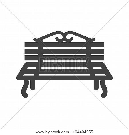 Peoples, sitting, park icon vector image. Can also be used for town. Suitable for use on web apps, mobile apps and print media.