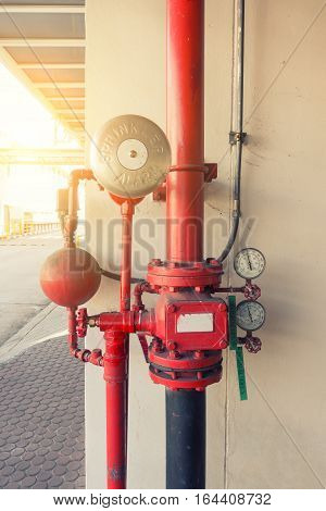 Industrial fire protection system, Industrial fire hose equipment.