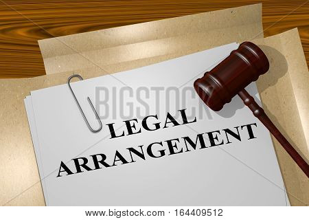 Legal Arrangement - Legal Concept