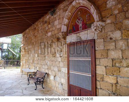 Monastery Agios Nicolaos Ton Gaton In Episkopi In Cyprus
