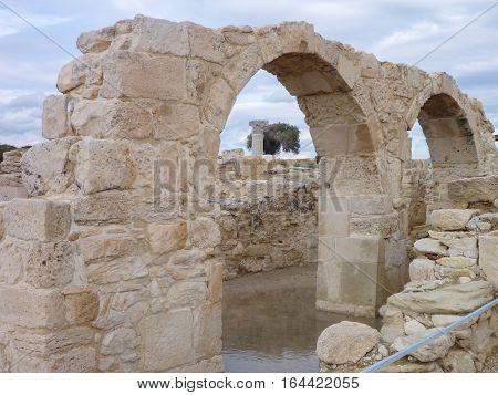 Ancient Greek Excavation Site Kourion
