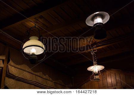 Light Lamp Electricity Hanging Decorate Home Interior Design