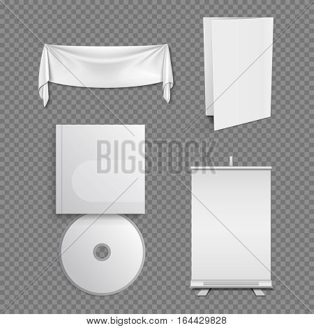 Corporate identity vector template, classic business brand design. Mock up objects for corporate identity brand illustration