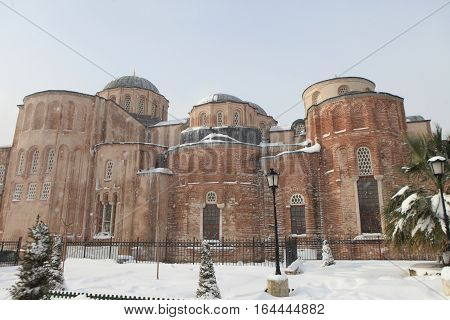 Zeyrek Mosque or the Pantocrator Monastery after completion of restoration