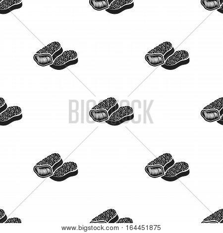 Nuggets vector illustration icon in black design