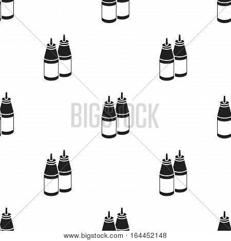 Sauce vector illustration icon in black design