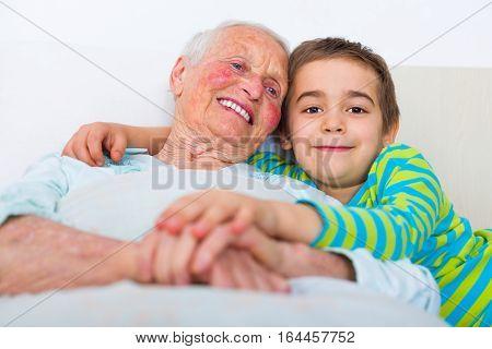 Bedtime With Grandchildren