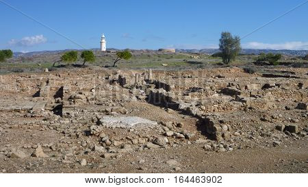 Historical Archeologicel Site Kato Pafos