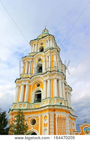 Bell tower of Trinity Monastery, Chernigov, Ukraine