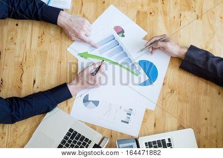 Business Teamwork Meeting Concept.
