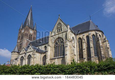Main Church Of The Thorn Abbey In Limburg