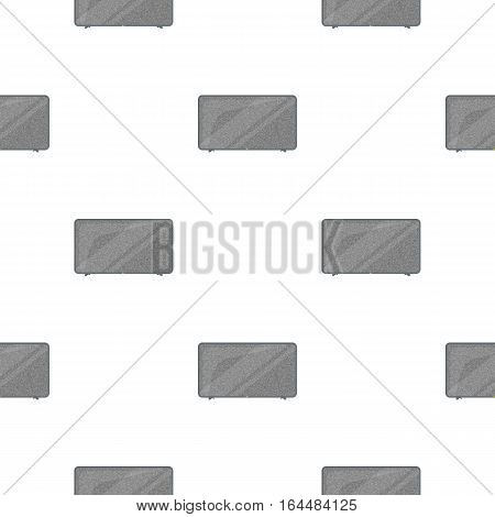 LCD television icon in cartoon style isolated on white background. Household appliance symbol vector illustration.