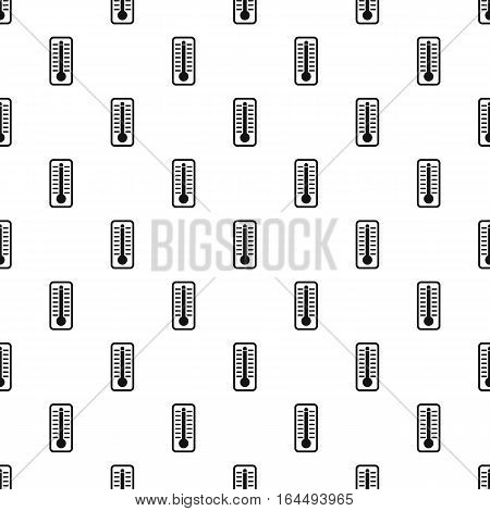 Thermometer with low temperature pattern. Simple illustration of thermometer with low temperature vector pattern for web