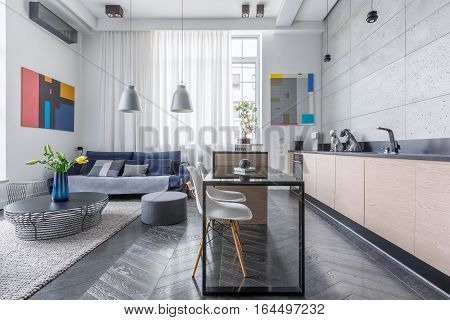 Apartment With Living Room